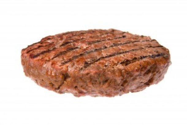 3820340-a-thick-juicy-hamburger-patty-cooked-on-a-barbecue-isolated-on-white